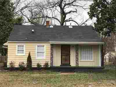 Memphis TN Single Family Home For Sale: $91,900