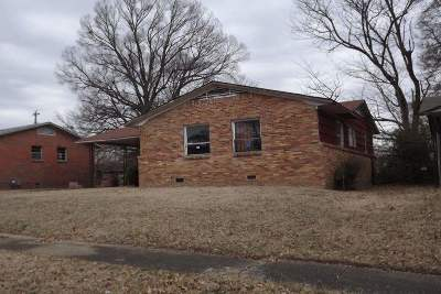 Memphis TN Single Family Home For Sale: $22,500