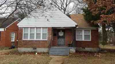 Memphis TN Single Family Home For Sale: $79,000