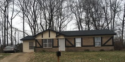 Memphis TN Single Family Home For Sale: $36,900