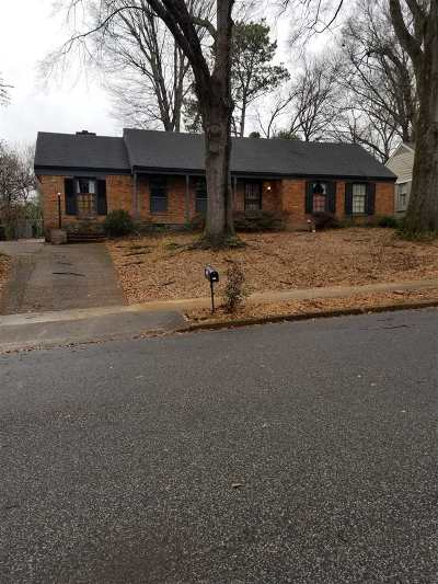 Memphis TN Single Family Home For Sale: $170,000