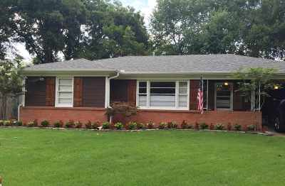 Memphis TN Single Family Home For Sale: $144,900