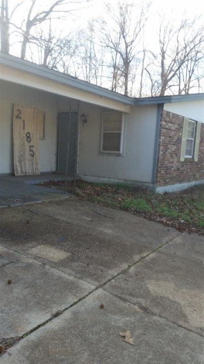 Memphis TN Single Family Home For Sale: $16,000