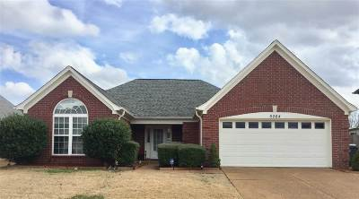 Bartlett Single Family Home For Sale: 5064 Wolfchase Farms