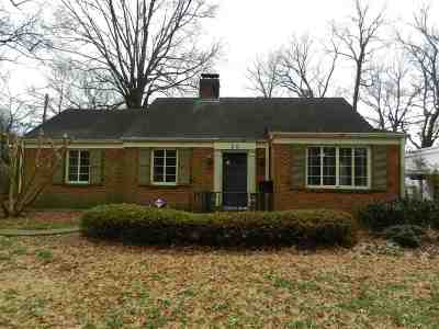 Memphis TN Single Family Home For Sale: $278,000