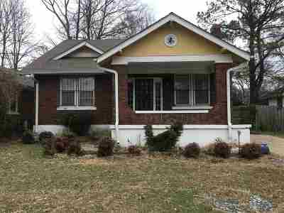 Memphis TN Single Family Home For Sale: $145,900