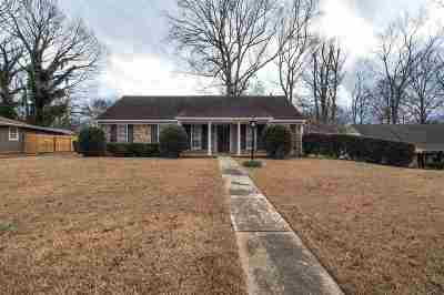 Memphis TN Single Family Home For Sale: $114,900