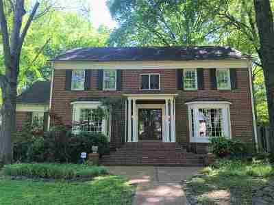 Memphis TN Single Family Home For Sale: $378,500