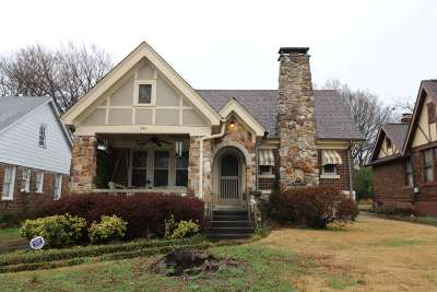 Memphis TN Single Family Home For Sale: $189,000