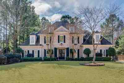 Collierville Single Family Home For Sale: 9993 Bentwood Creek