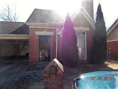 Memphis TN Single Family Home For Sale: $68,250