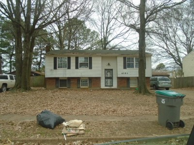 Memphis TN Single Family Home For Sale: $90,000