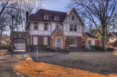 Memphis Single Family Home For Sale: 615 East