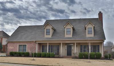 Collierville Single Family Home For Sale: 1231 Elm Spring