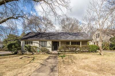 Memphis Single Family Home For Sale: 3754 Northwood
