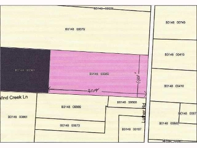 Bartlett Residential Lots & Land For Sale: 4609 Luther