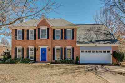 Collierville Single Family Home For Sale: 1036 Heather Lake