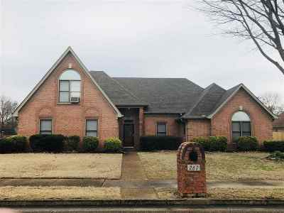 Collierville Single Family Home For Sale: 267 Aubrey