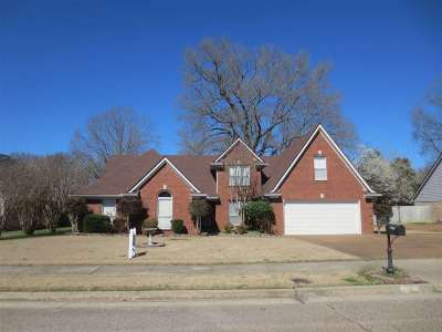 Bartlett Single Family Home For Sale: 7960 Breezy Meadows