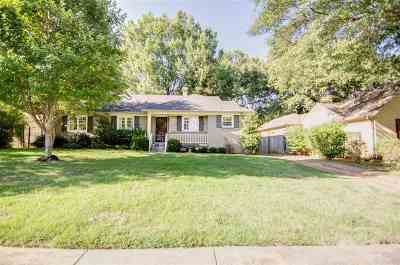 Memphis Single Family Home For Sale: 3840 Mimosa