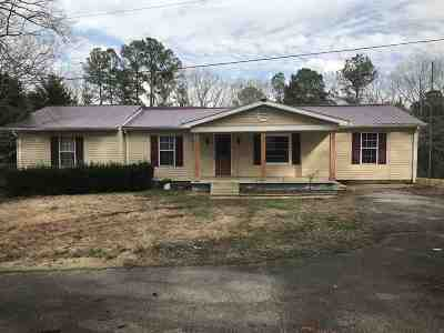 Selmer Single Family Home For Sale: 141 Young