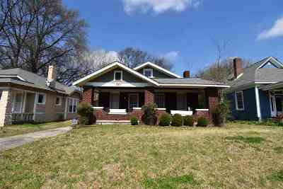 Cooper, Cooper Young Single Family Home For Sale: 1840 Felix