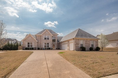 Bartlett Single Family Home For Sale: 8783 Carriage Creek