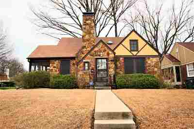 Memphis TN Single Family Home For Sale: $169,900