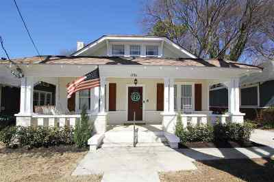 Memphis Single Family Home For Sale: 1756 Linden
