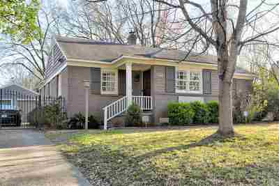 Memphis Single Family Home For Sale: 3771 Mimosa