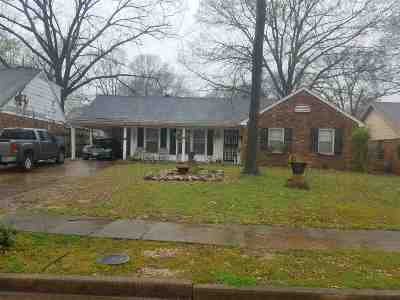 Memphis Single Family Home For Sale: 3439 Starsdale