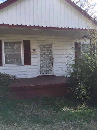 Memphis Single Family Home For Sale: 807 E Dempster