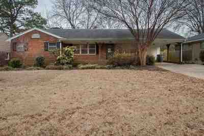 Memphis Single Family Home For Sale: 5431 Quince