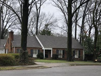 Memphis Single Family Home For Sale: 4338 Chickasaw