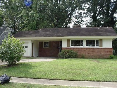 Memphis Single Family Home For Sale: 3611 S Deerwood
