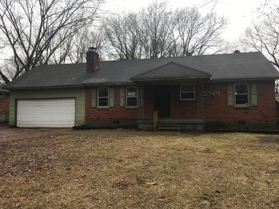 Memphis Single Family Home For Sale: 3349 Parham