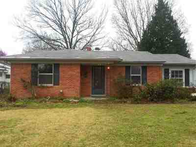 Memphis TN Single Family Home For Sale: $70,000