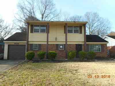 Memphis TN Single Family Home For Sale: $41,800