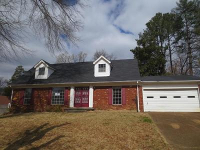 Memphis TN Single Family Home For Sale: $70,250