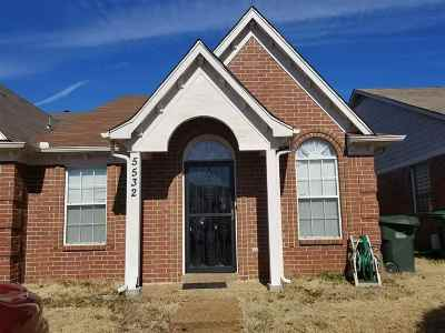 Memphis TN Condo/Townhouse For Sale: $73,000