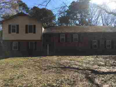 Memphis TN Single Family Home For Sale: $138,000
