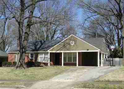Memphis TN Single Family Home For Sale: $169,000