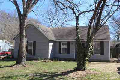 Memphis TN Single Family Home For Sale: $75,000