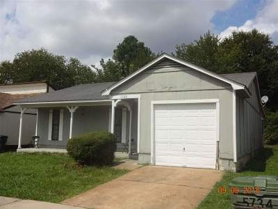 Memphis TN Single Family Home For Sale: $71,238