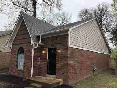 Memphis TN Single Family Home For Sale: $76,000