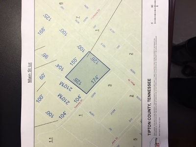 Atoka Residential Lots & Land For Sale: Main