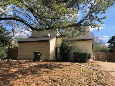 Memphis TN Single Family Home For Sale: $67,470