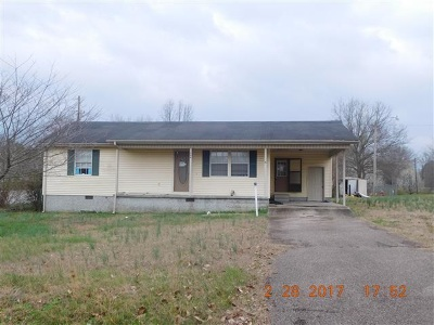 Adamsville TN Single Family Home For Sale: $59,500