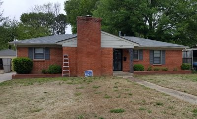 Memphis TN Single Family Home For Sale: $153,000