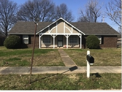 Memphis TN Single Family Home For Sale: $119,900